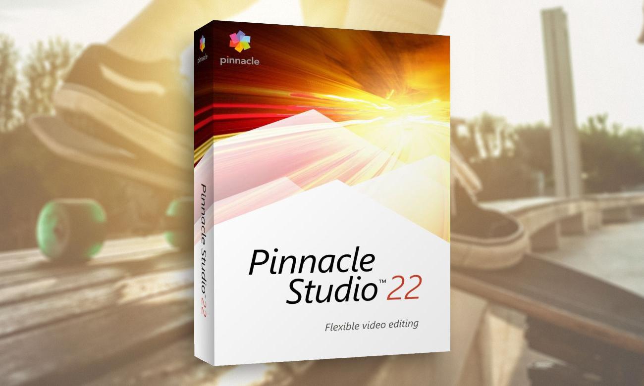 Corel Pinnacle Studio 22 Standard narzędzie do edycji i montażu wideo