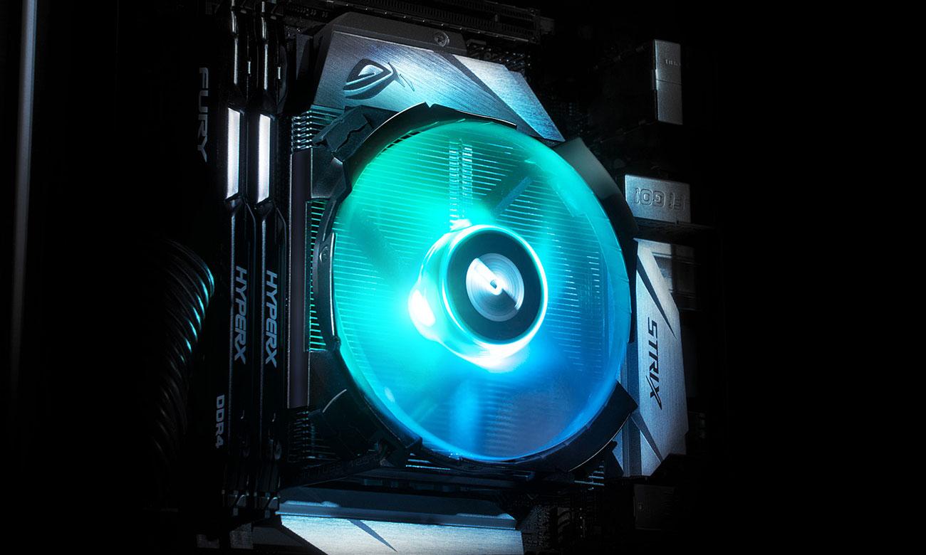 Cryorig C7 RGB - Podświetlenie