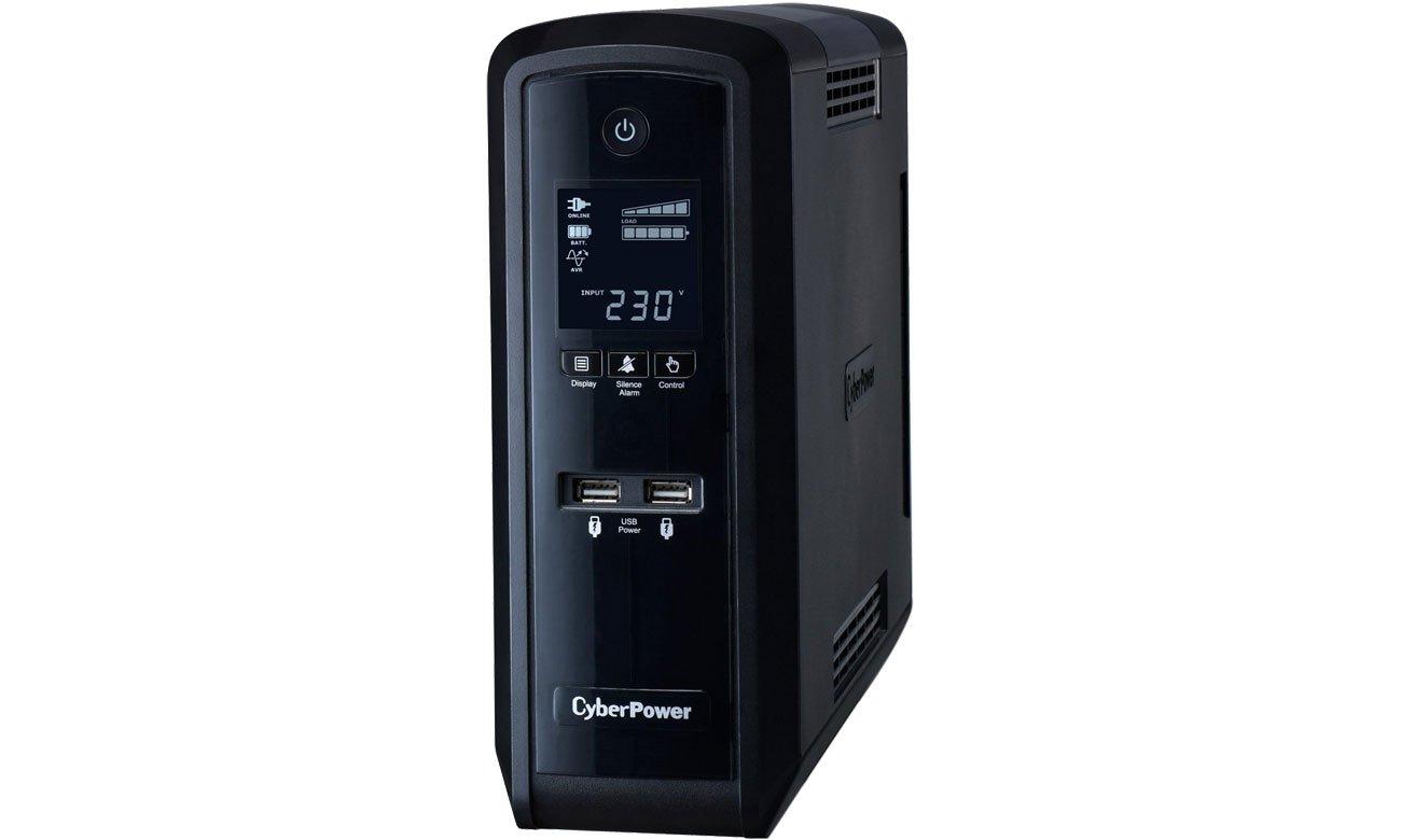 Zasilacz awaryjny (UPS) CyberPower UPS CP1300EPFCLCD (1300VA/780W)