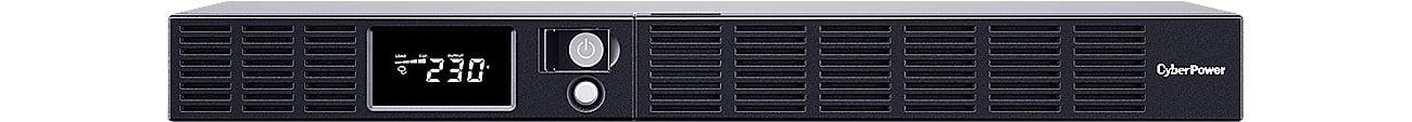 Zasilacz awaryjny (UPS) CyberPower UPS OR600ERM1U (600VA/360W, 6xIEC, AVR, LCD) OR600ERM1U