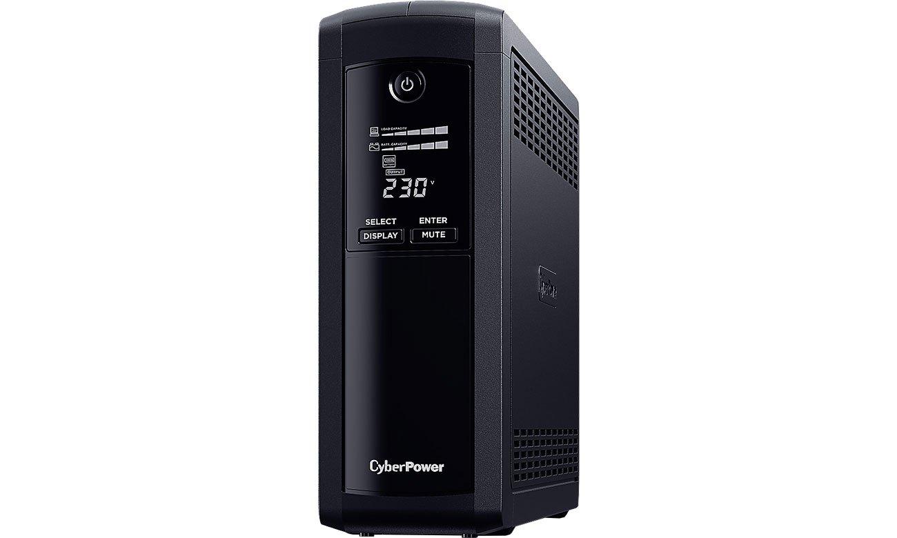 CyberPower UPS Value Pro (1200VA/720W, 5xFR, AVR, LCD) VP1200ELCD-FR