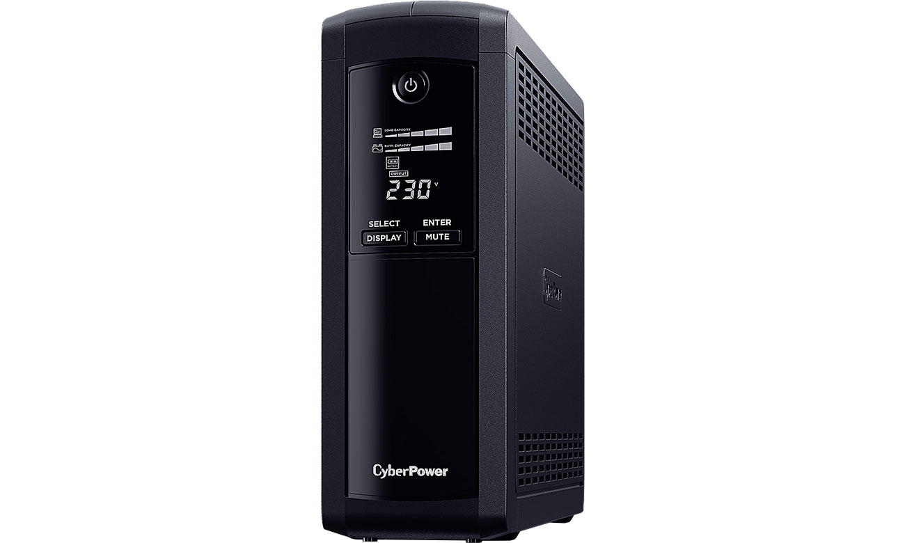 CyberPower UPS Value Pro (1600VA/960W, 5xFR, AVR, LCD) VP1600ELCD-FR