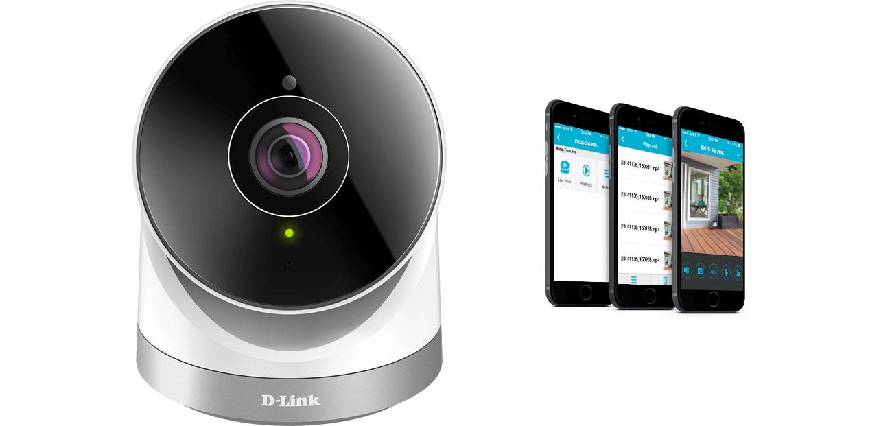 D-Link DCS-2670L Powiadomienia na smartfona