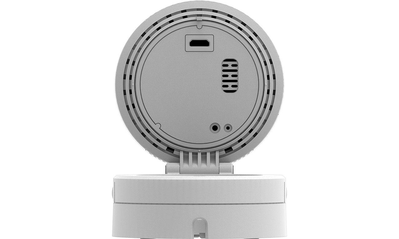 D-Link DCS-8100LH Widok z tyłu, micro USB