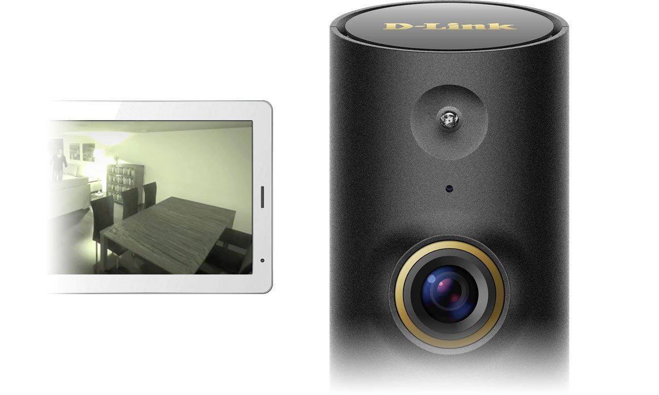 Kamera D-Link Mini HD WiFi DCS-P6000LH Tryb nocny