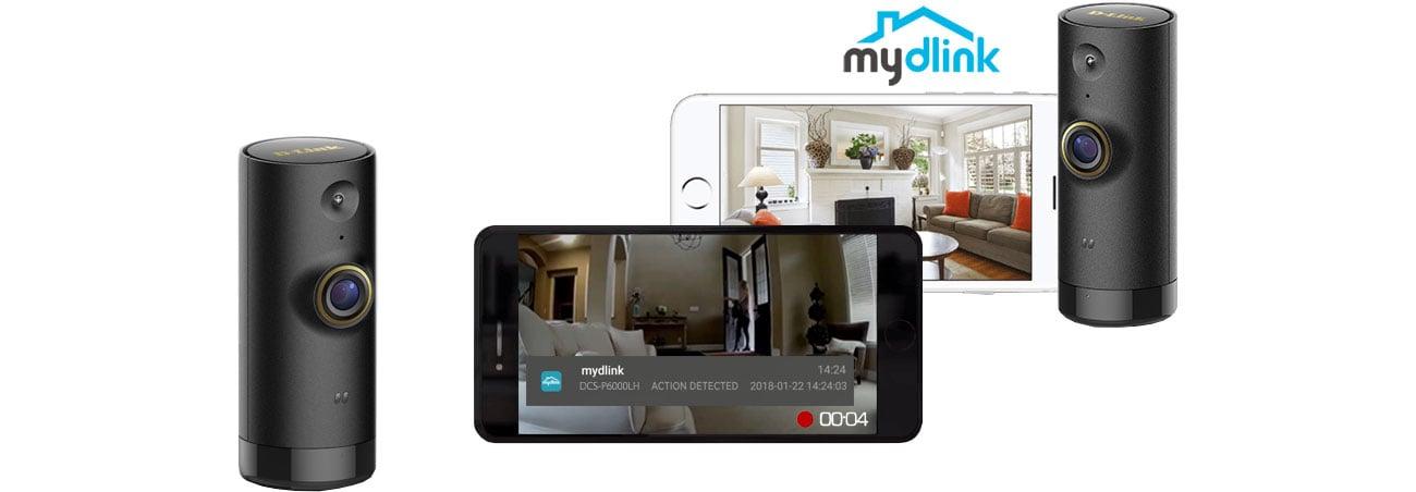 Kamera D-Link Mini HD WiFi DCS-P6000LH Aplikacha mydlink
