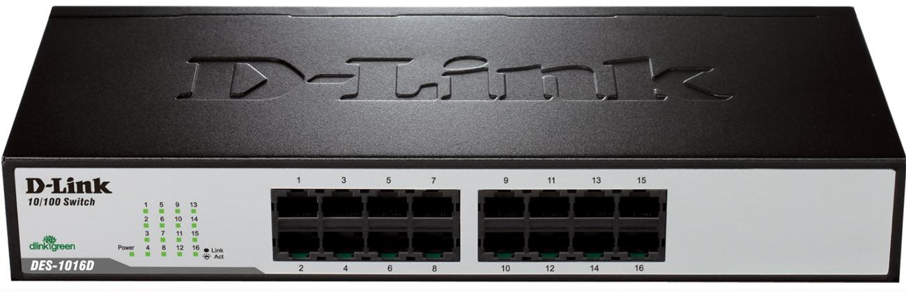 Switch D-Link 16p DES-1016D