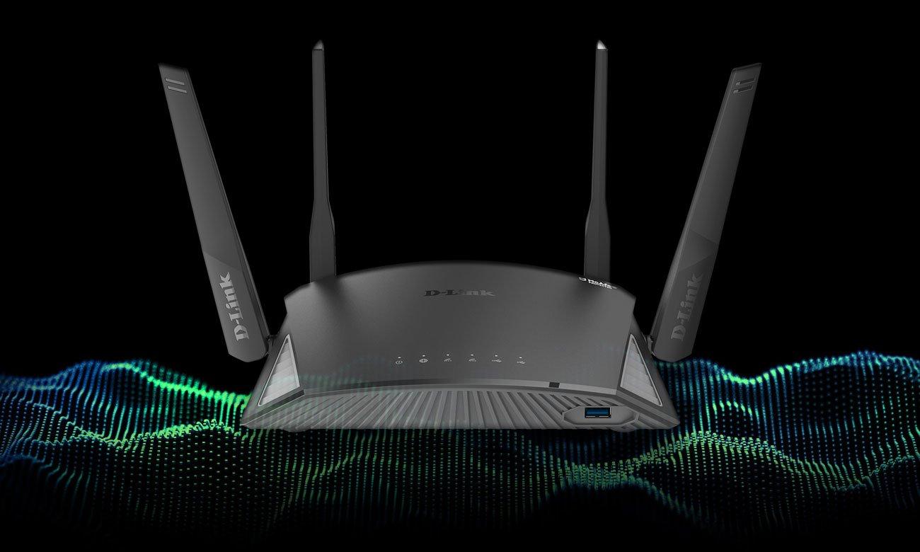 Router D-Link DIR‑2660 802.11a/b/g/n/ac 2600Mb/s Gigabit USB