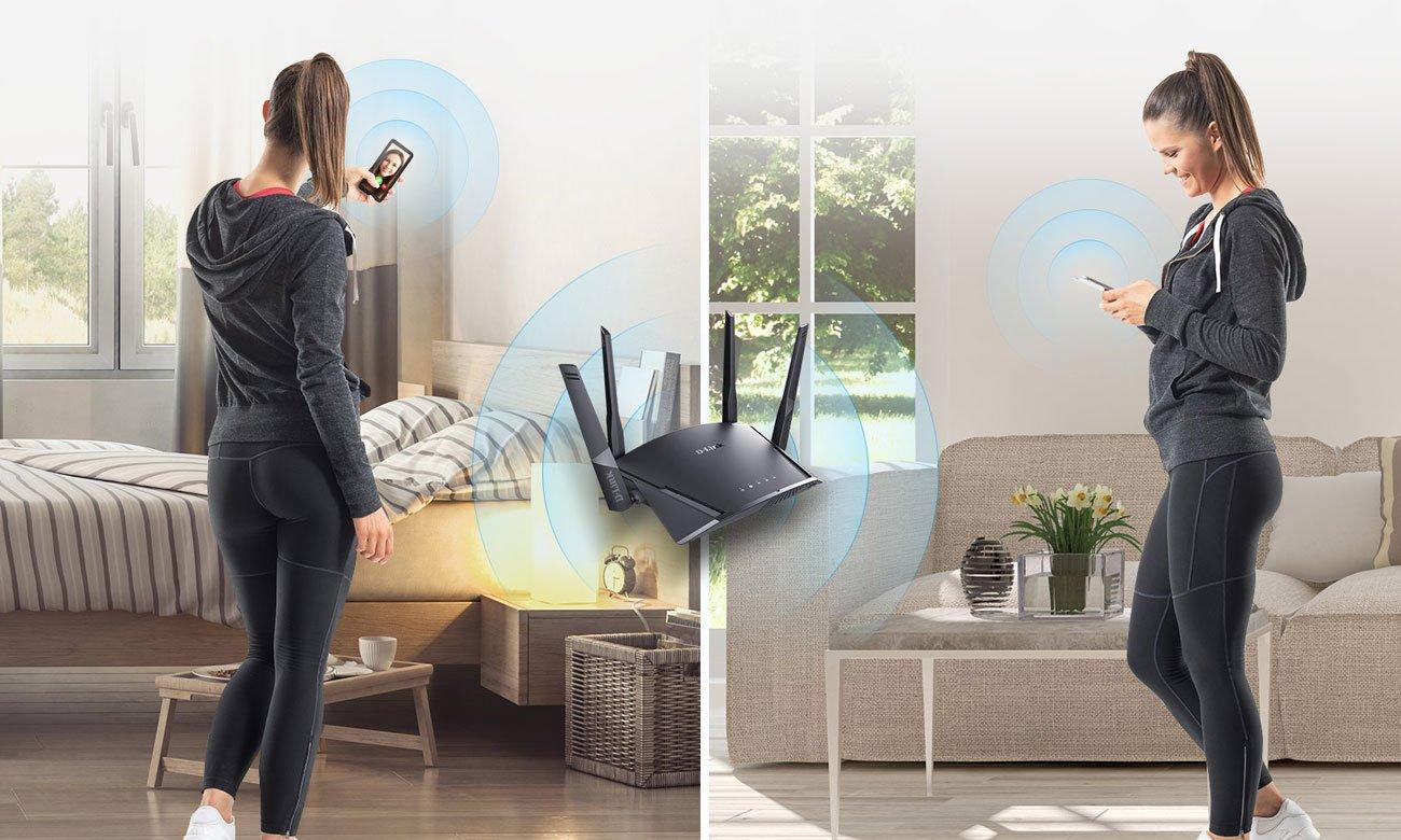 D-Link DIR‑2660 - Sieć WiFi