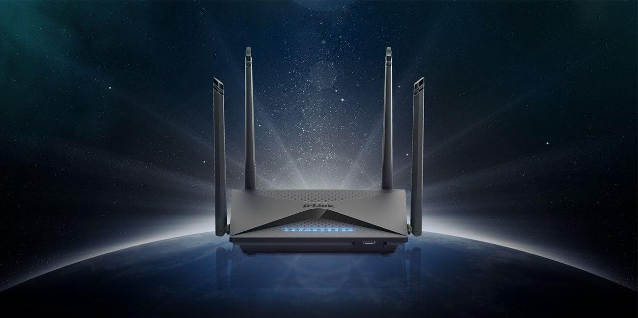 Router D-Link DIR-853 802.11a/b/g/n/ac 1300Mb/s Gigabit USB MU-MIMO DualBand AC