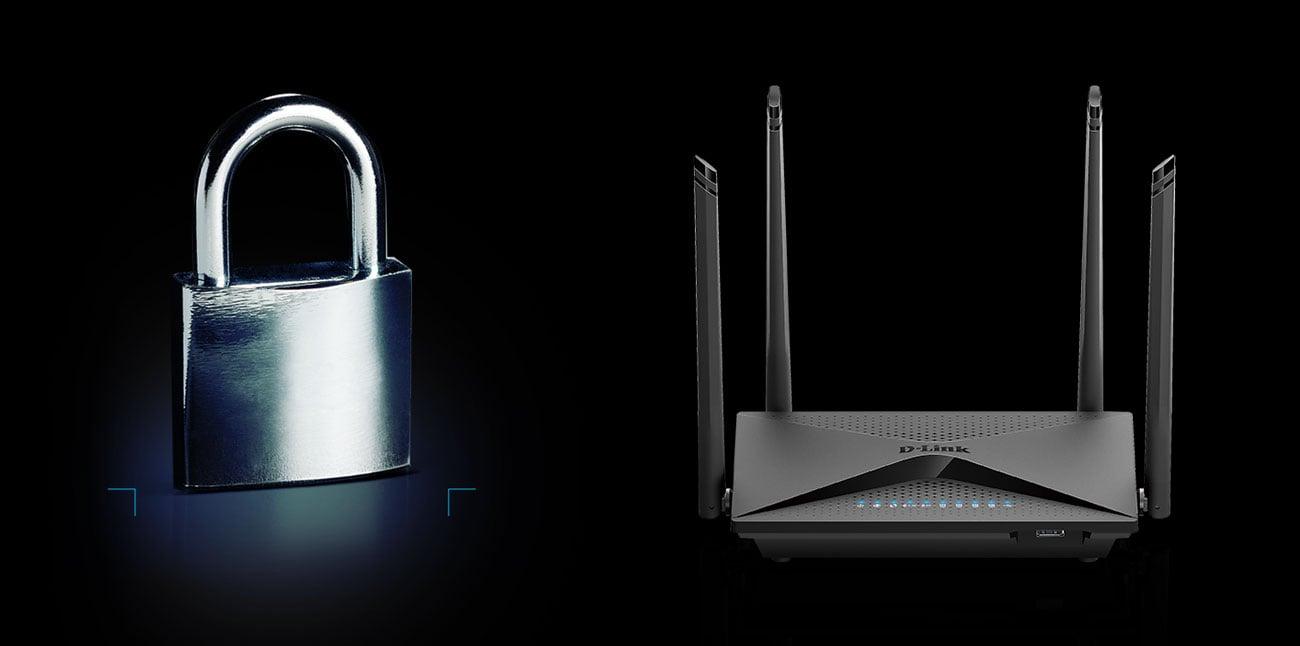 D-Link DIR-853 Bezpieczeństwo