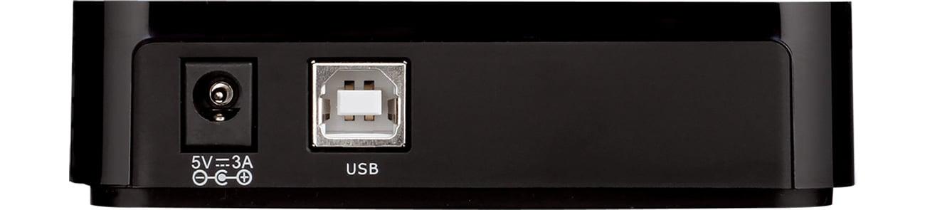 Koncentrator USB D-Link DUB-H7 Ładowarka