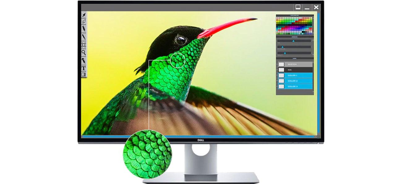 Dell UP3218K Technologia Dell PremierColor