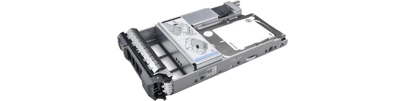 Dysk serwerowy Dell 900GB 15K RPM SAS 512n 2.5 in 3.5 Hot-Plug 400-APFZ