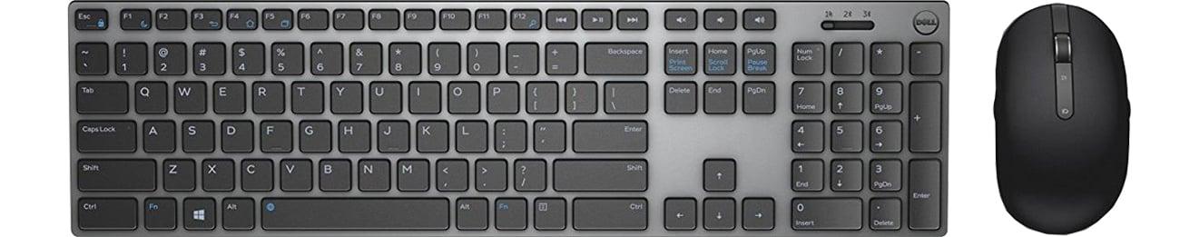 Zestaw klawiatura i mysz Dell KM717 Premier Wireless Desktop 580-AFQE