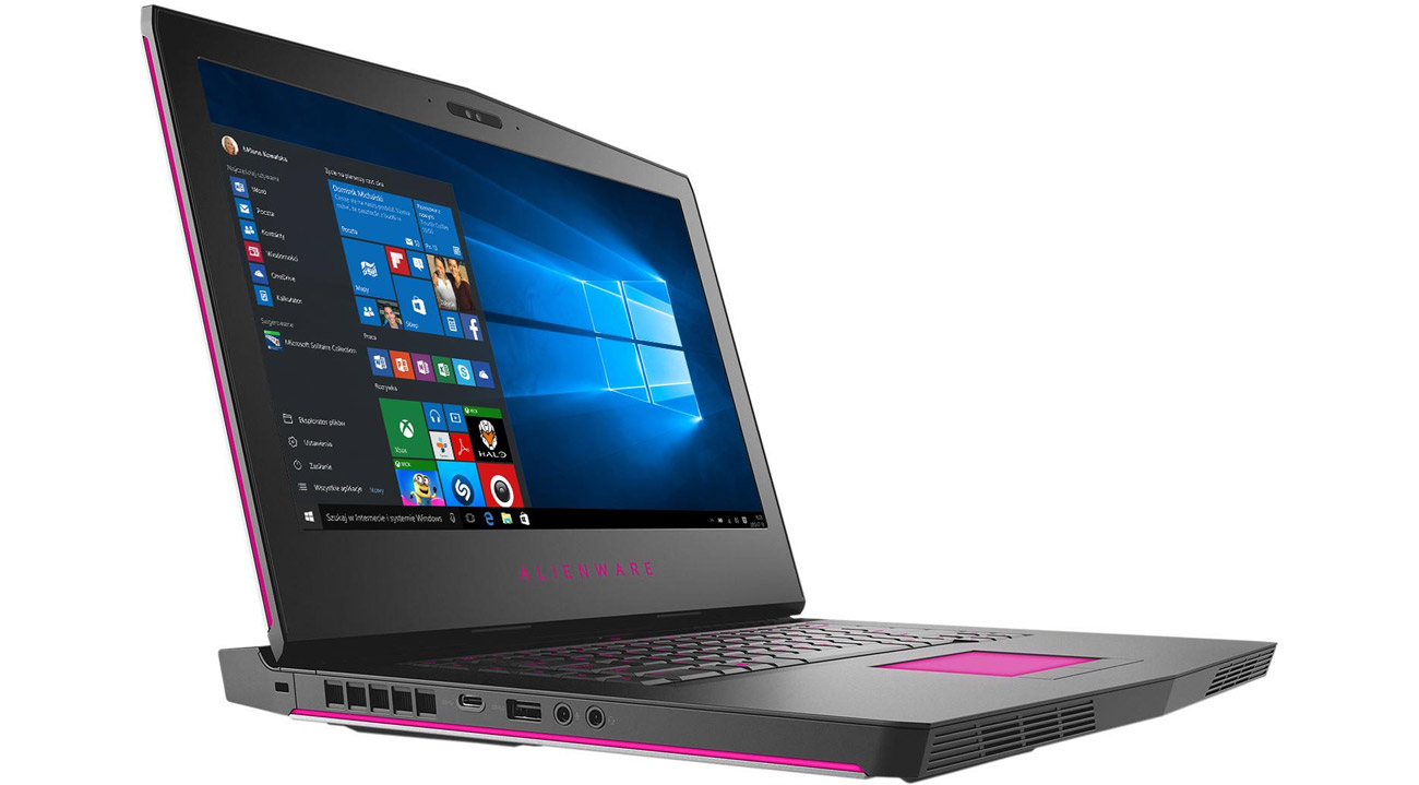 Dell Alienware 15 wysoka jakość wykonania