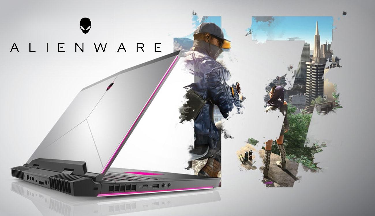 Dell Alienware 17 Procesor Intel Core i7 ósmej generacji