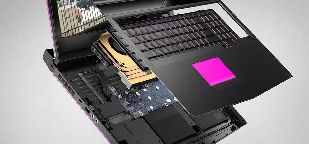 Dell Alienware 17 doskonała konstrukcja
