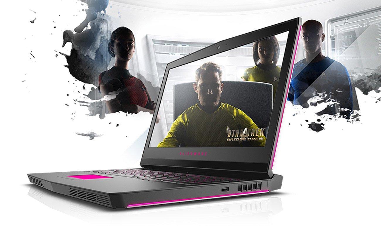 Dell Alienware 17 wysoka jakość wykonania