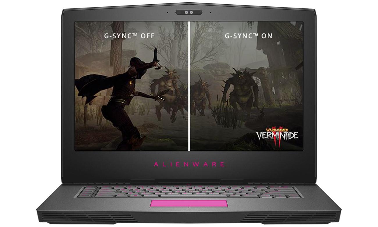 Dell Alienware 15 i technologia NVIDIA G-Sync