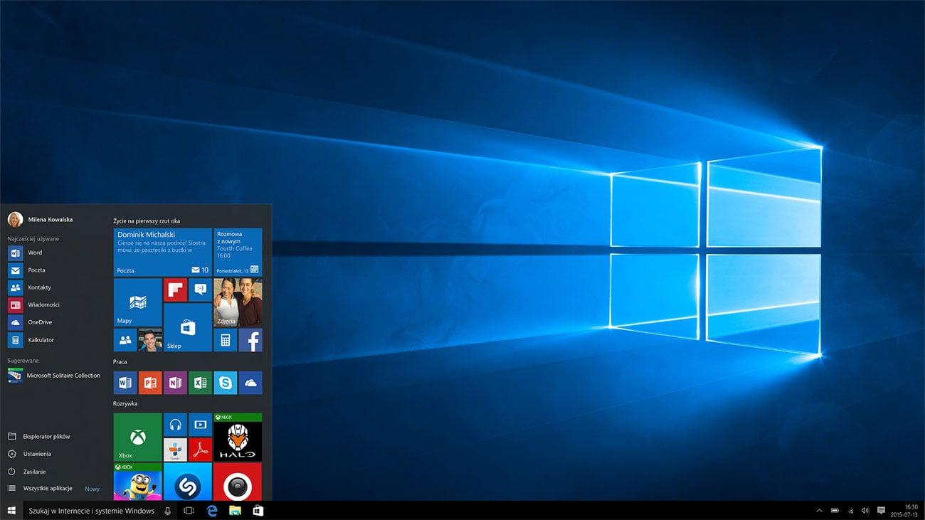 System operacyjny Windows 10 PRO