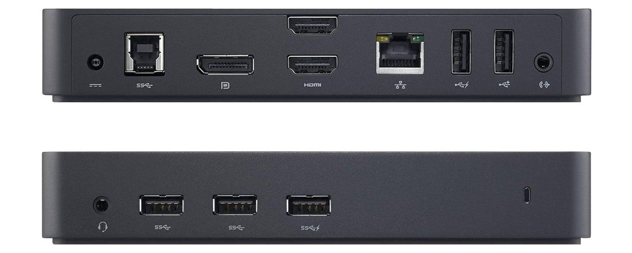 Dell D3100 porty i złącza