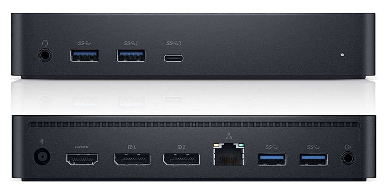 Dell Universal Dock D6000 Połączenia i funkcje