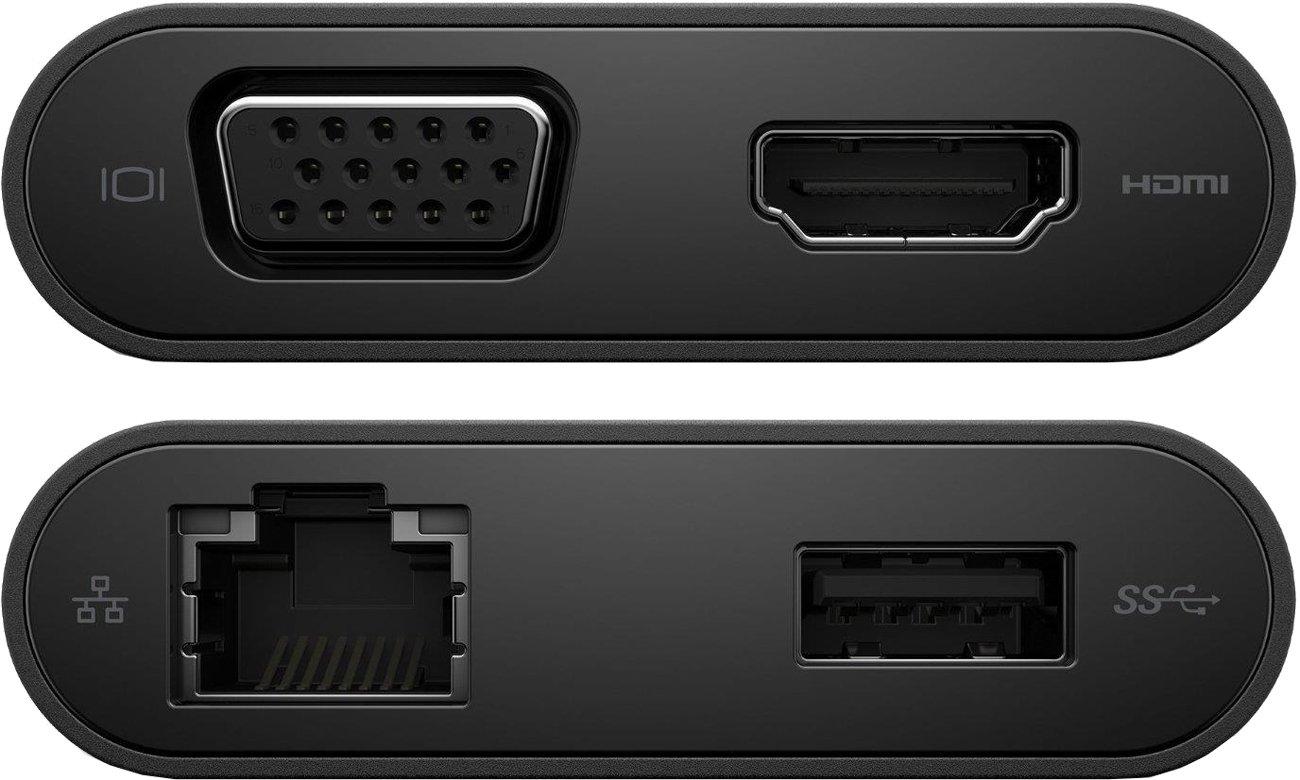 Dell DA200 Złącza HDMI i VGA