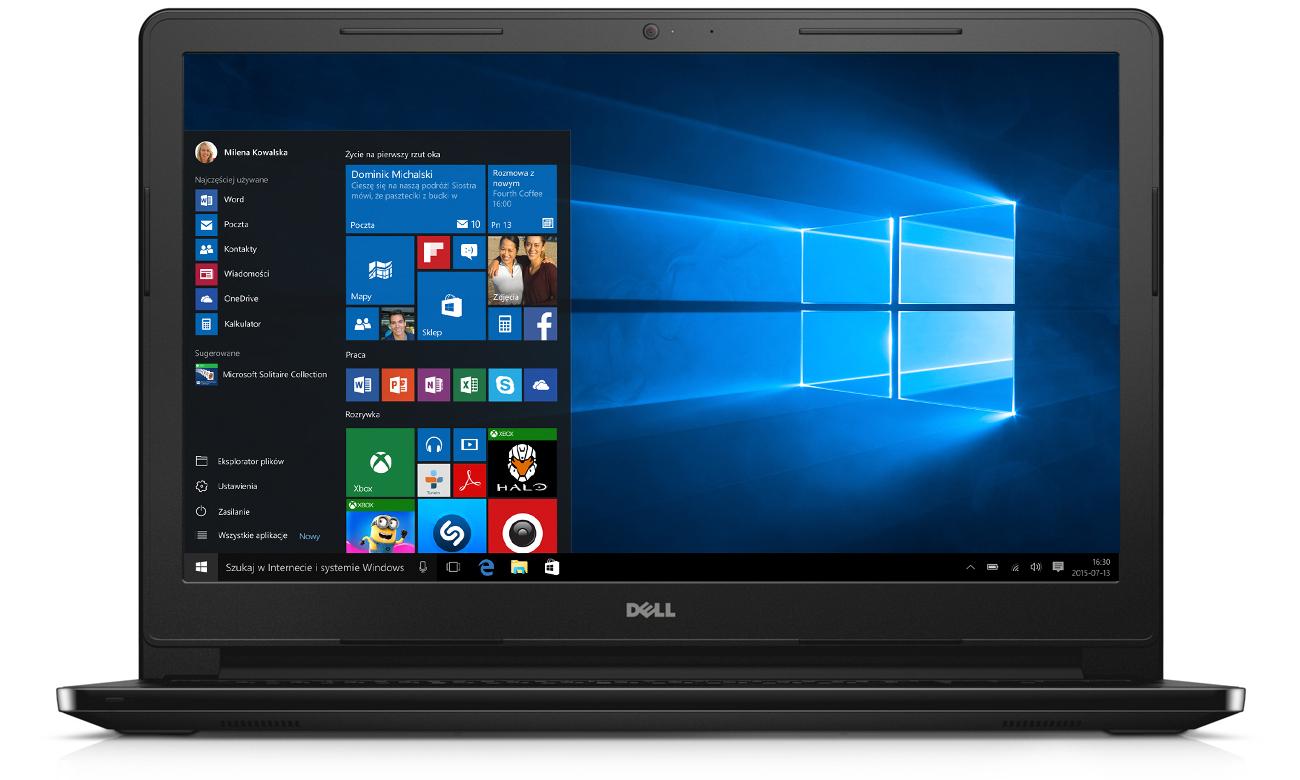 Port USB HDMI czytnik kart SD Laptop Dell Inspiron 3558