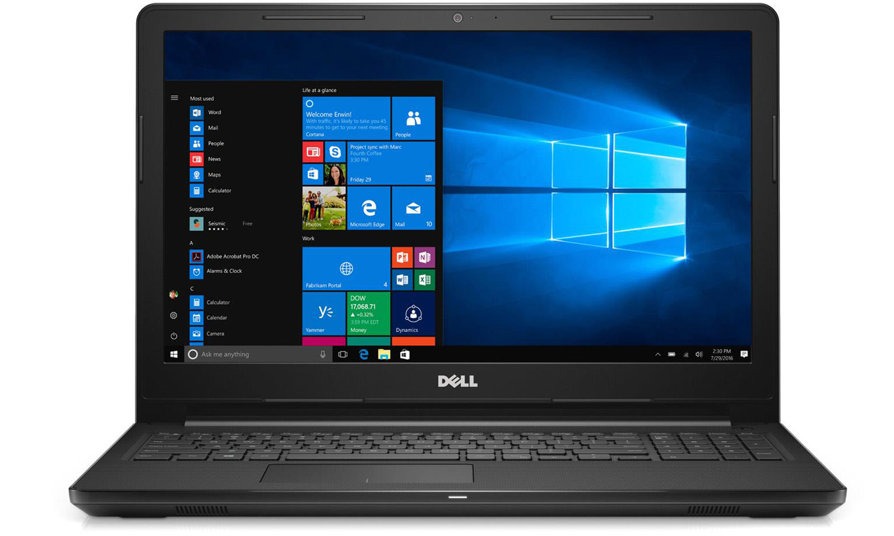 "Dell Inspiron 3567 laptop z 15"" ekranem"