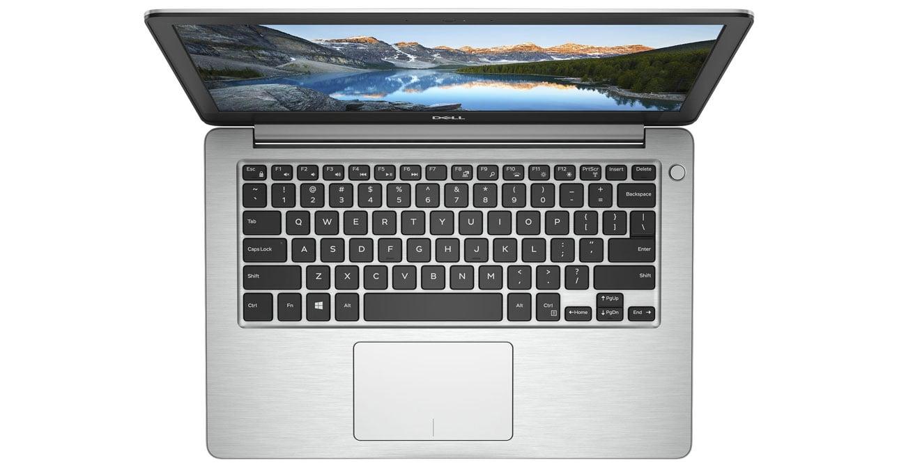 Dell Inspiron 5370 cieńsza lżejsza konstrukcja wytrzymała obudowa aluminium