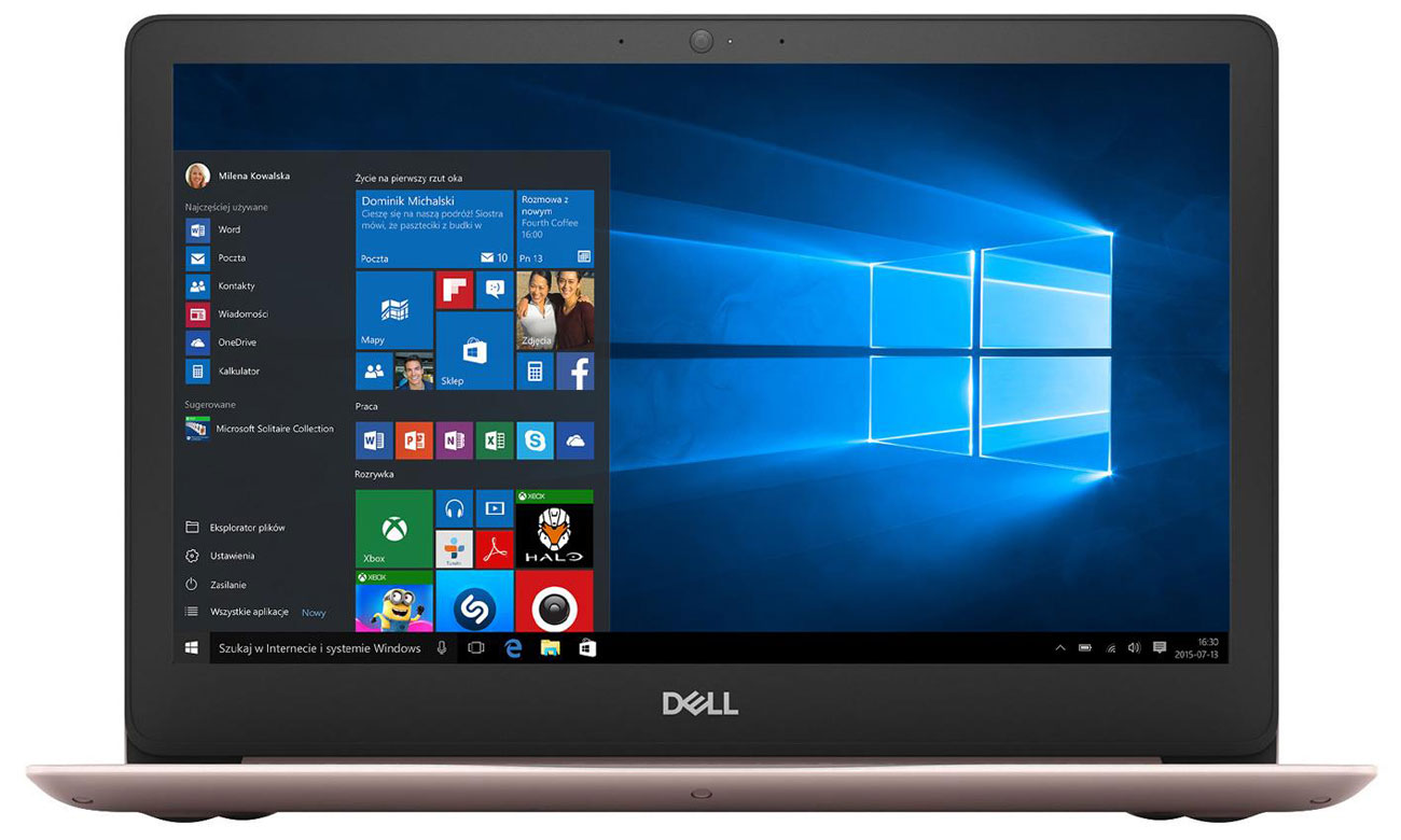 Dell Inspiron 5370 procesor Intel Core i3 ósmej generacji