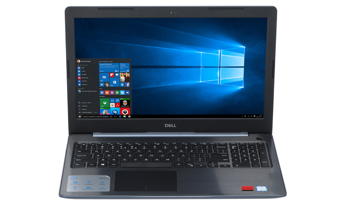 Dell Inspiron 5570 Intel Core i3-8250U niebieski
