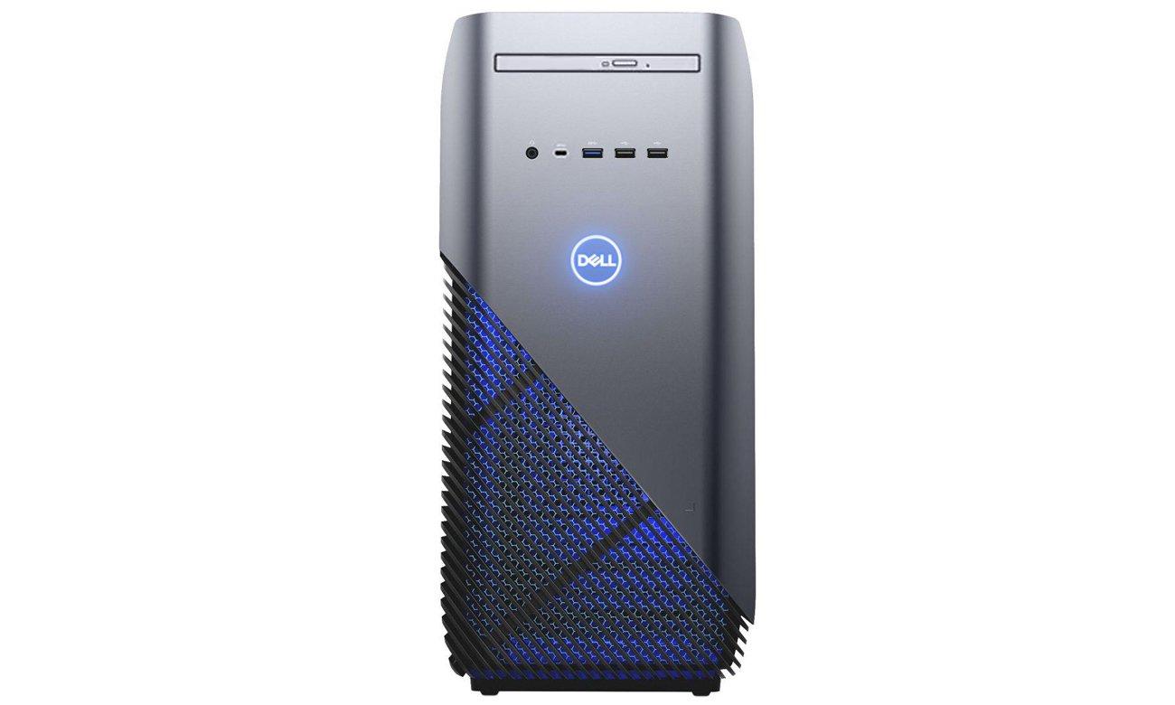 Dell Inspiron 5680 Bogaty zestaw portów, Swobodne korzystanie z peryferiów i akcesoriów
