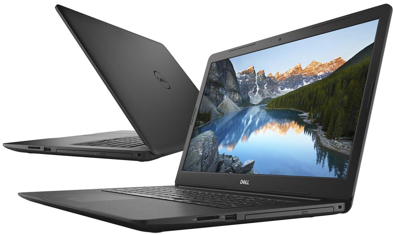 Dell Inspiron 5770 czarny laptop o długim czasie pracy na baterii
