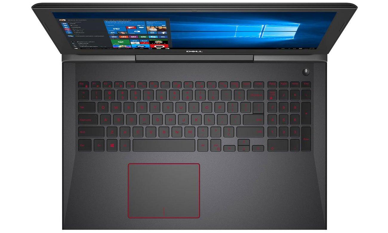 Dell Inspiron G5 Klawiatura stworzona z dbałością o każdy szczegół