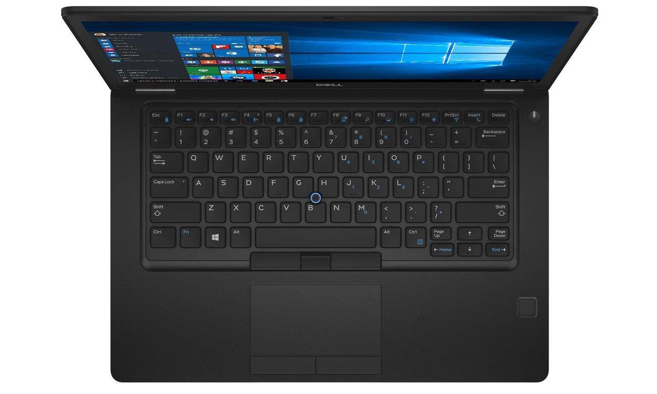 Dell Latitude 5491 Bezpieczeństwo godne zaufania