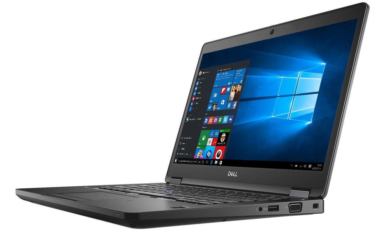 Dell Latitude 5491 Łatwe zarządzanie notebookami w firmie
