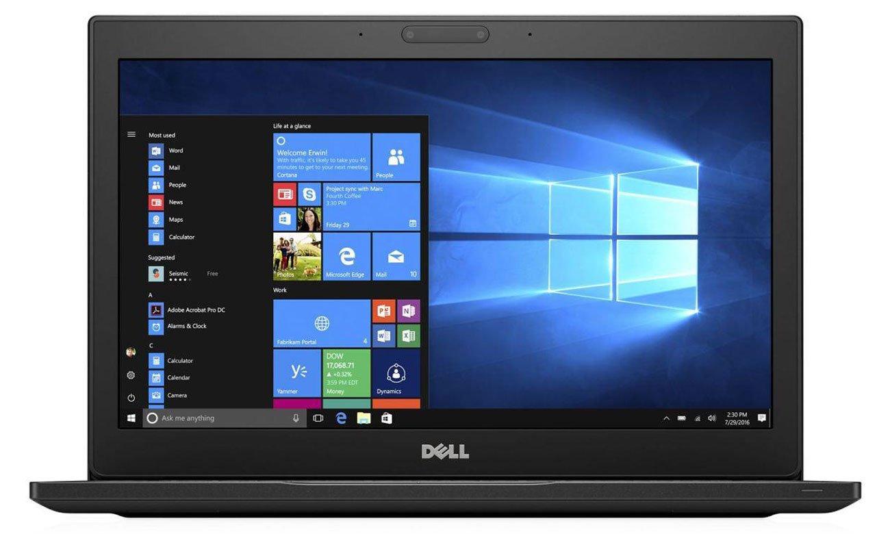 Dell Latitude 7280 Smukła konstrukcja, optymalna produktywność