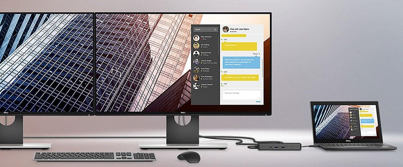Dell Latitude 7290 Łatwe zarządzanie firmowymi notebookami