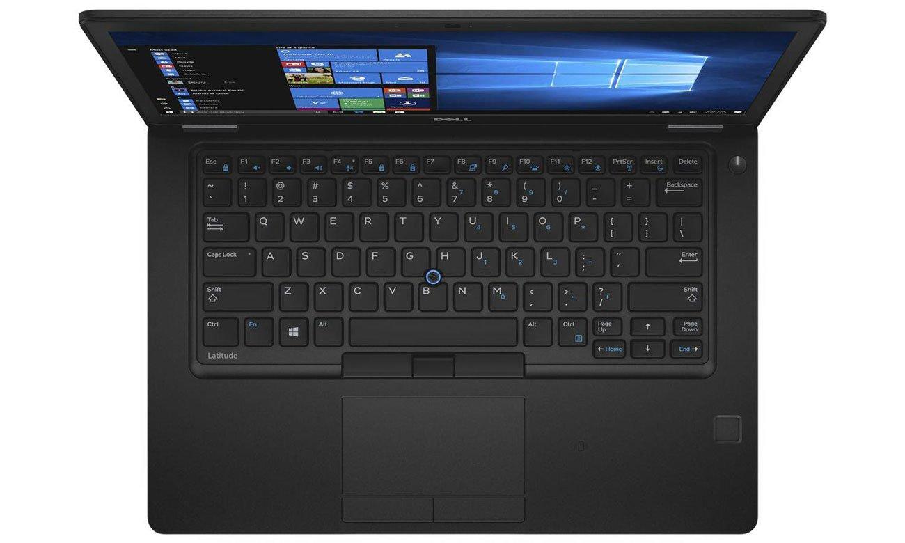 Dell Latitude 5480 bezpieczenstwo