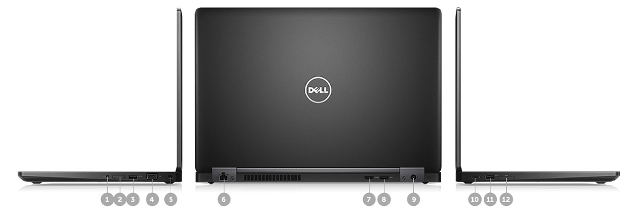 Dell Latitude E5480 zarządzanie