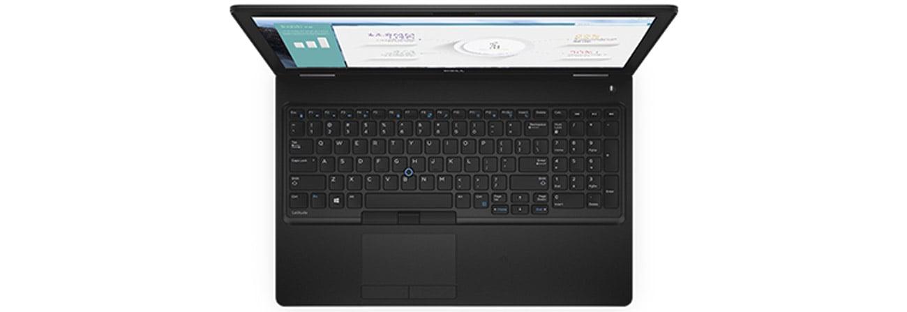 Dell Latitude E5580 podświetlana klawiatura