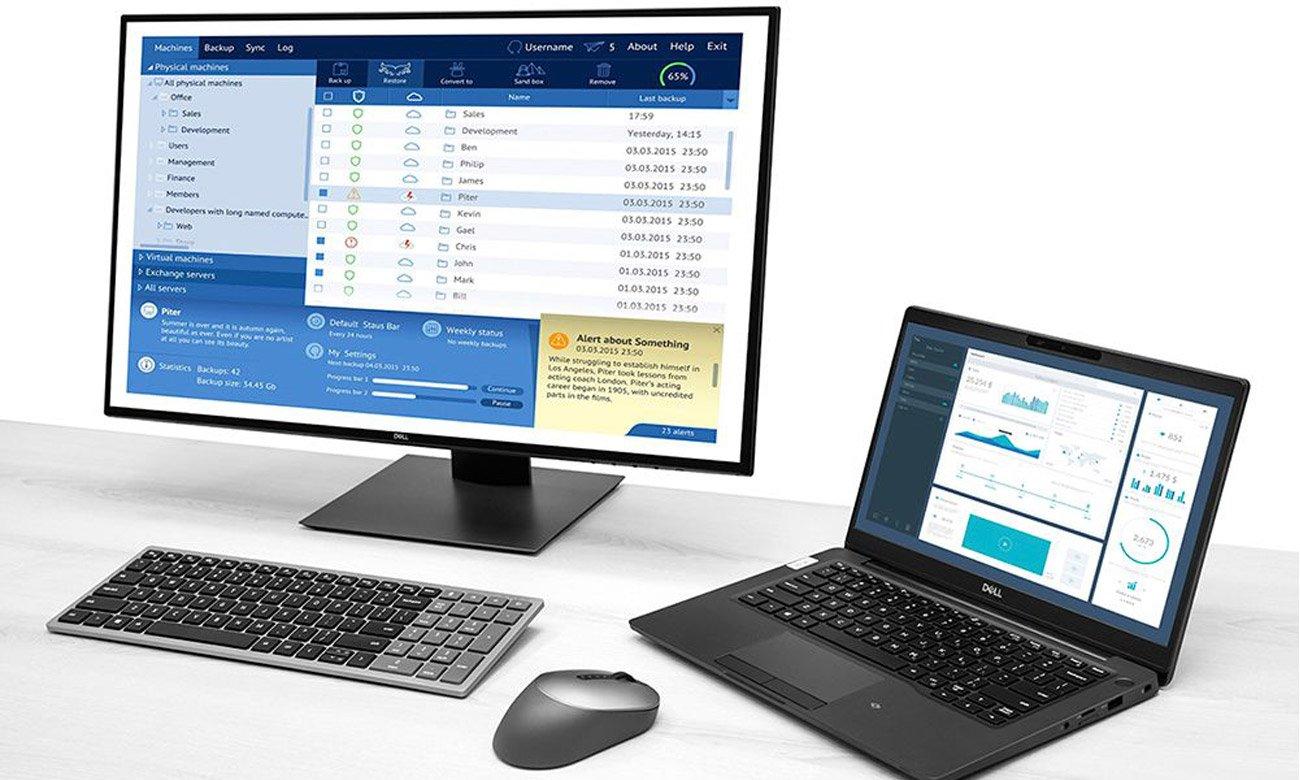 Mysz bezprzewodowa Dell MS5320W Szara