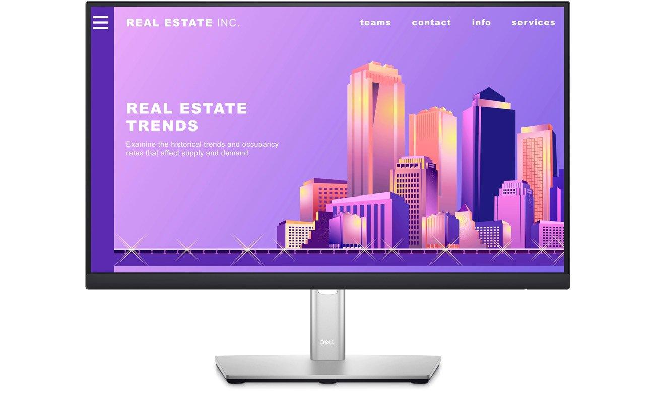 Wszechstronny monitor do domu i biura Dell P2222H