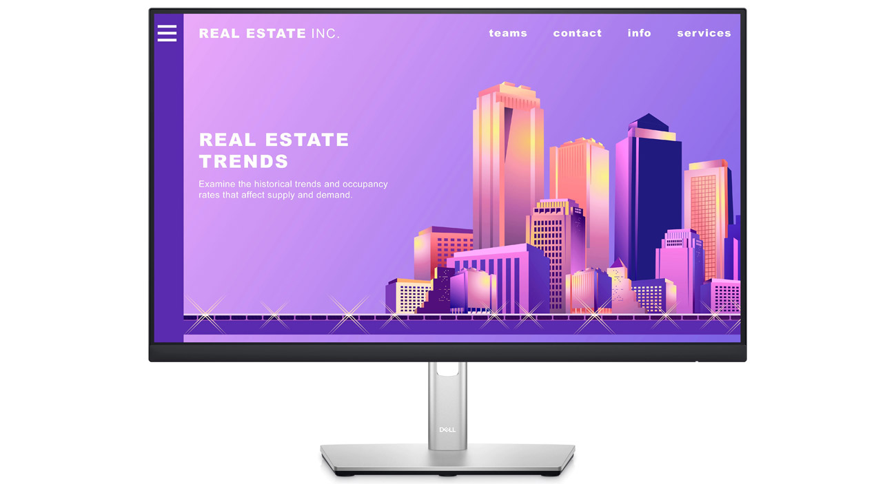 Monitor do domu i biura Dell P2422H