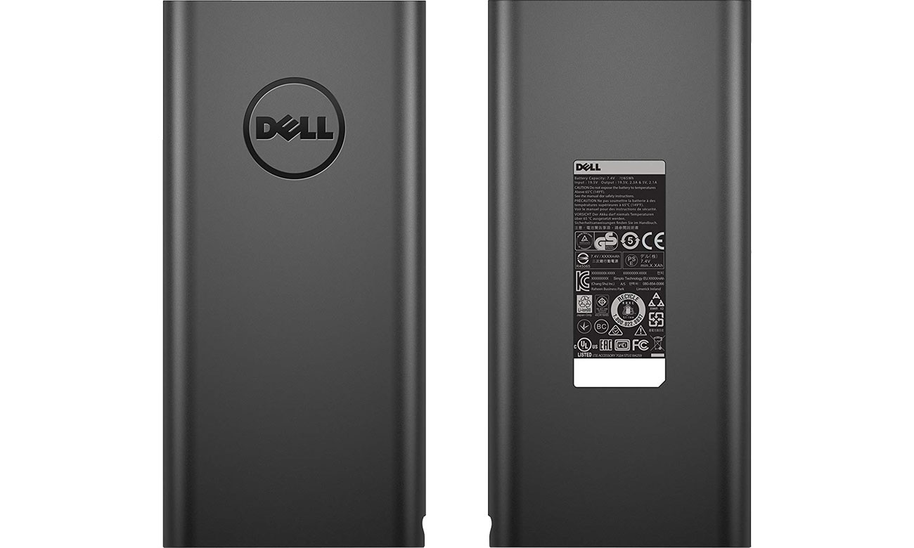 Dell Power Bank Plus 18,000 mAh (2x USB) PW7015L