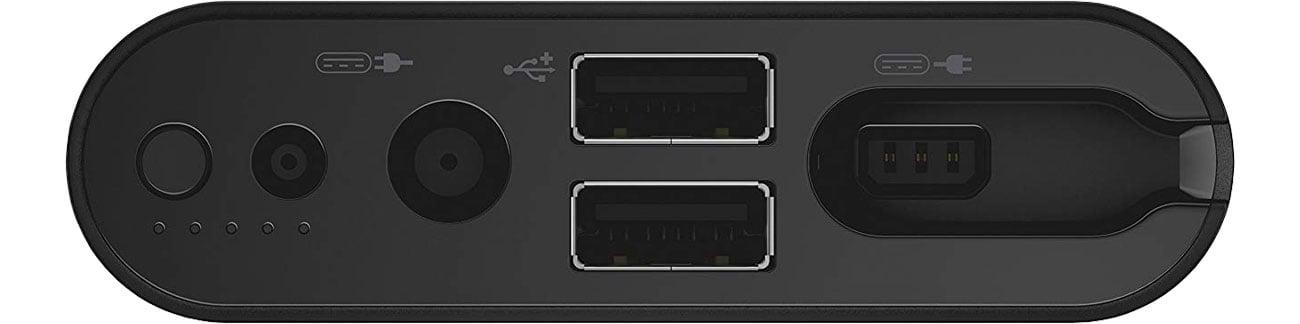 Power Bank Dell PW7015L - Złącza