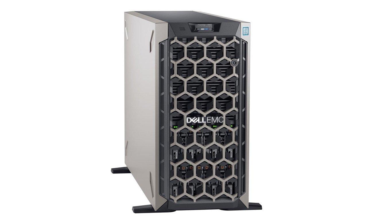 Serwer Dell PowerEdge T640 w kolorze szarym