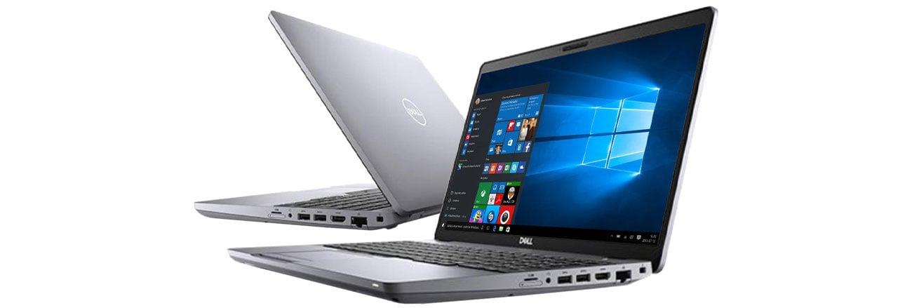 Laptop do projektowania graficznego Dell